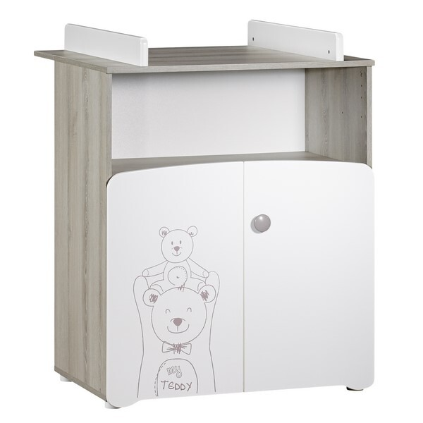 Baby Price - Commode à langer Teddy