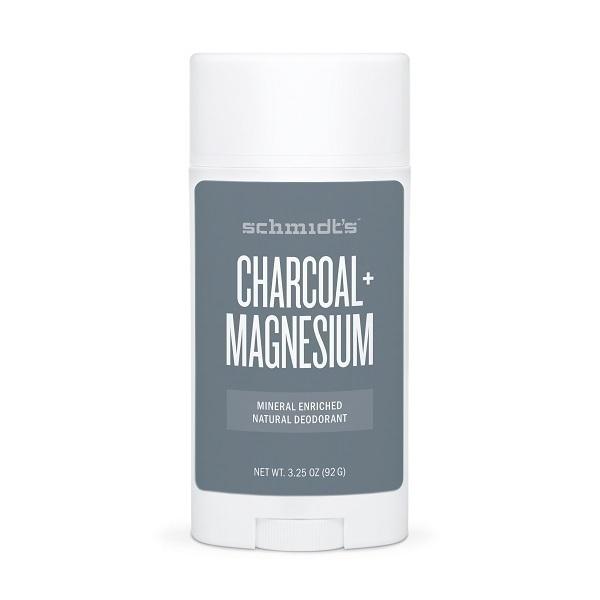Schmidt's - Déodorant stick peaux sensibles Charbon 92 g