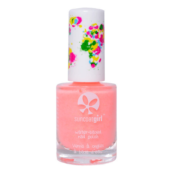 Suncoatgirl - Vernis Rock Star - Corail pailleté - 9 mL