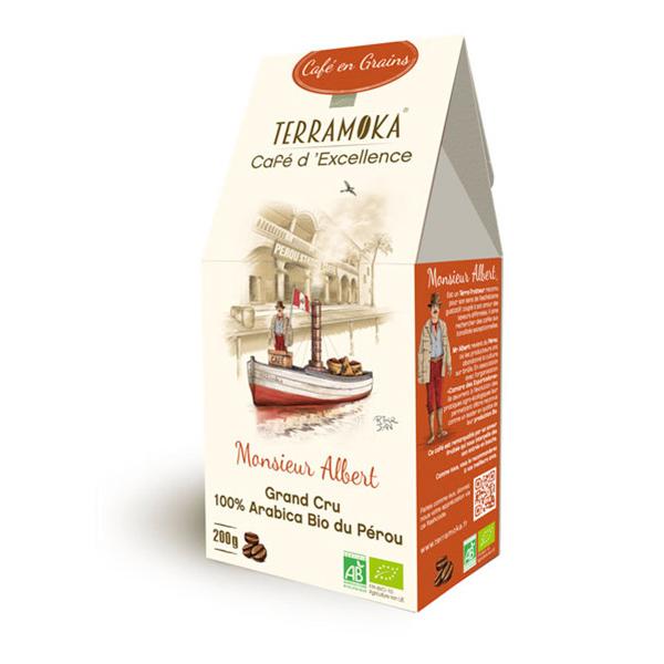 Terramoka - Café Albert - En grain 200g - Pérou