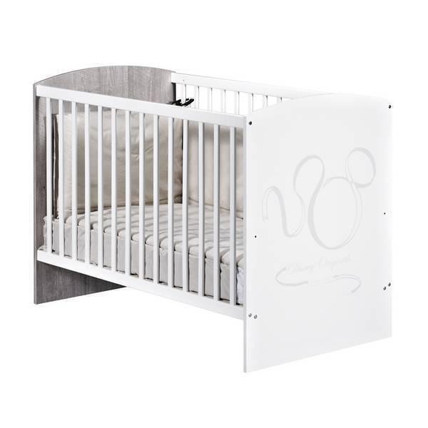 lit b b 120x60cm disney baby la r f rence bien tre bio b b. Black Bedroom Furniture Sets. Home Design Ideas