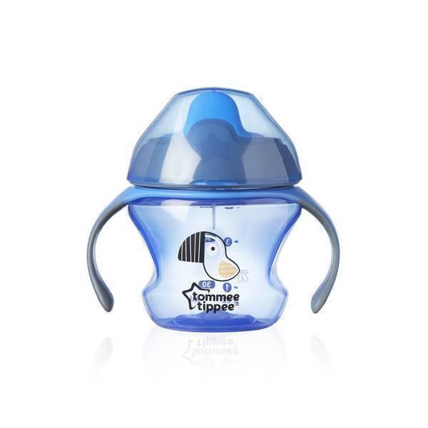 Tommee Tippee - Tasse 1er âge 4 mois et + Bleu