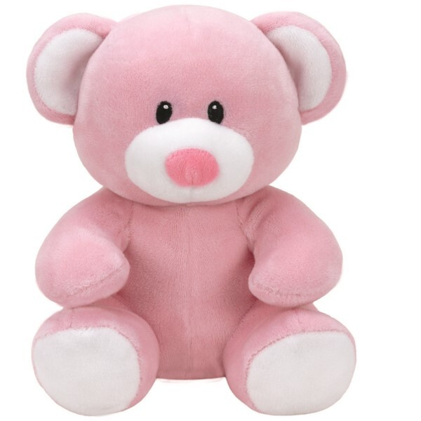 Ty - Baby Ty - Princess l'Ours Rose 20 cm
