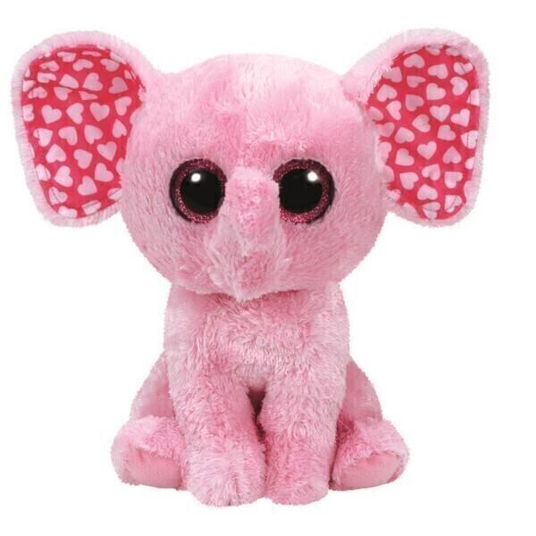 Ty - Beanie Boo's - Peluche Sugar L'Eléphant 23 cm