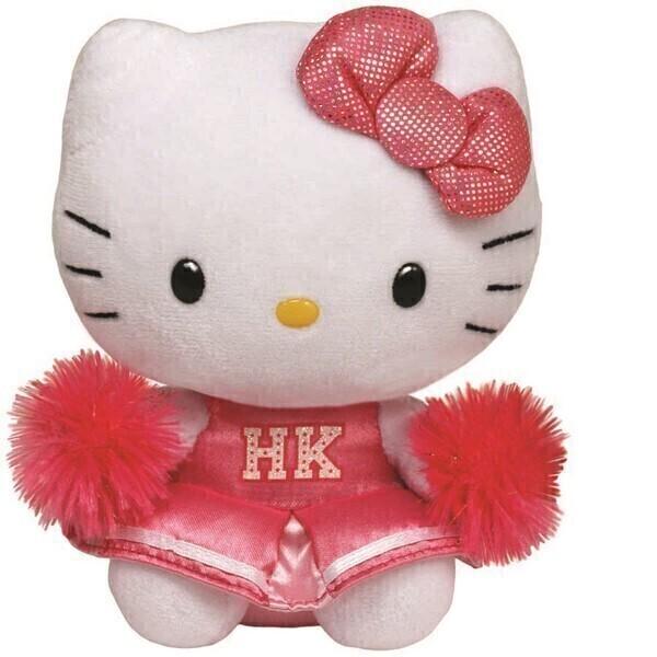 Ty - Hello Kitty - Peluche Cheerleader 15 cm