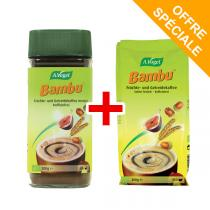 A.Vogel - Boisson instantanée Bambu 200g + sa Recharge de 200g