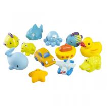 Babymoov - Amis du bain - Lot de 12 jouets