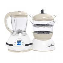 Babymoov - Robot cuiseur et mixeur bébé Nutribaby Classic Cream
