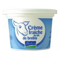 Biochamps - Lot de 12 x Crème fraîche lait de brebis 200gr