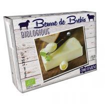 Biofarm - Lot de 12 x Beurre de lait de brebis 125g