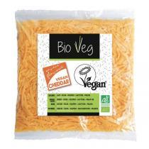 BioVeg - Lot de 12 x Râpé Cheddar vegan - 150g