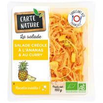 Carte Nature - Salade créole ananas et curry 160g