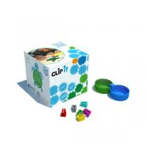 Clip it - Boîte de 400 clips - Tortue 2D