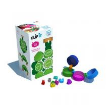 Clip it - Boîte de 400 clips - Tortue 3D