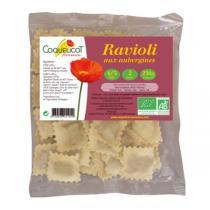 Coquelicot - Ravioli frais à l'aubergine - 250 g