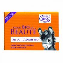 Cosmo Naturel - Savon bio au lait d'ânesse Orange Lavande - 100 g