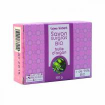 Cosmo Naturel - Savon bio surgras à l'huile d'argan - 100 g