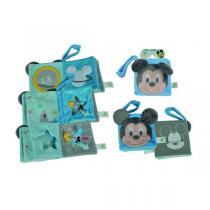 Disney Baby - Livre d'éveil - Mickey Bleu