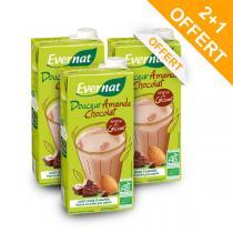 Evernat - Lot 2+1 OFFERT Douceur Amande Chocolat 1L