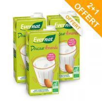 Evernat - Lot 2+1 OFFERT Douceur Amande Sans Sucres - 1L