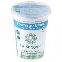 La Bergerie - Lot de 12 x Fromage blanc brebis nature 400g
