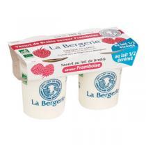 La Bergerie - Yaourt brebis framboise 2x125g