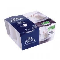 Lait Plaisirs - Fromage blanc faisselle 4x100g