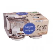 Laiterie du Périgord - Yaourt étuvé vanille 4x125g