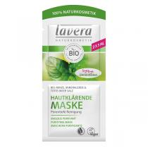 Lavera - Masque nettoyant purifiant menthe 10ml