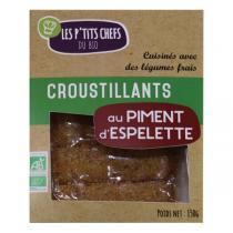 Les P'tits Chefs du Bio - 5 Croustillants piment espelette 150g