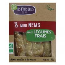 Les P'tits Chefs du Bio - Mini nem végétarien 8x25g