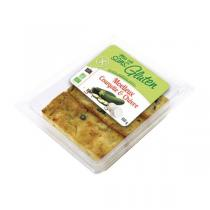 Ma vie sans gluten (Frais) - 3 Moelleux courgette chèvre Bio 150g