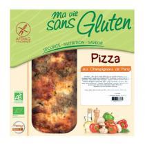 Ma vie sans gluten (Frais) - Pizza champignons sans gluten Bio 150g