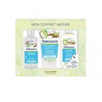 Natessance - Coffret soin pour les cheveux coco & kératine
