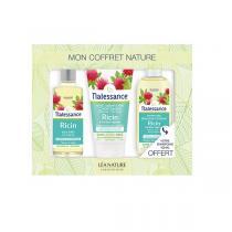 Natessance - Coffret soin pour les cheveux ricin et kératine
