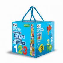 SASSI Junior - Eco-cubes Compte avec les chiffres - Dès 3 ans