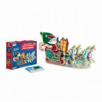 SASSI Junior - Emboîte et construis: Le traîneau du Père Noël - Dès 3 ans
