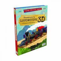 SASSI Junior - Livre et maquette La locomotive 3D - Dès 6 ans