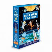 SASSI Junior - Livre et puzzle De la terre à la lune - Dès 6 ans