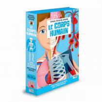 SASSI Junior - Livre et puzzle Le corps humain - Dès 6 ans
