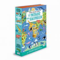 SASSI Junior - Livre et puzzle  Le monde des animaux - Dès 6 ans