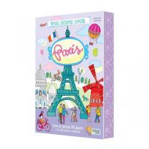 SASSI Junior - Livre et puzzle Voyage, découvre, explore: Paris - Dès 6 ans