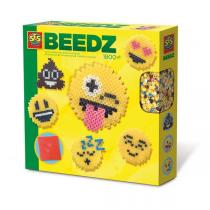 SES Creative - Beedz: Perles à repasser - Émoticônes - Dès 6 ans