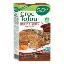Soy - Croque tofou lentilles carotte