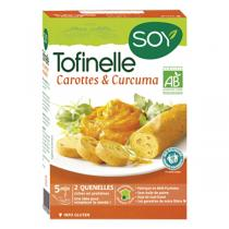 Soy - Tofinelle carotte curcuma 200g