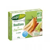 Valpibio - Bouillon de légumes cube Bio - 60g