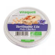 Vitaquell Frais - Tartinable Lin Pois chiches - 125 g