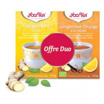 Yogi Tea - Offre Duo Infusions Gingembre - 34 sachets