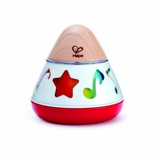 """Hape - Boite a musique """"Tourne en rond"""" - Des la naissance"""