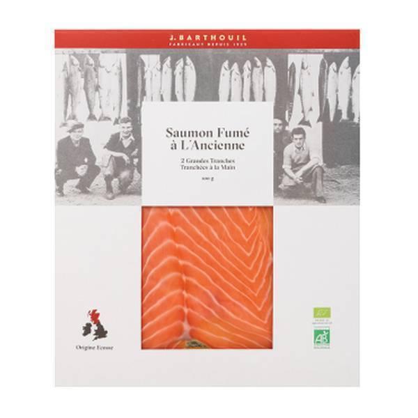 Barthouil - Saumon fumé à l'ancienne 2 tranches 100g